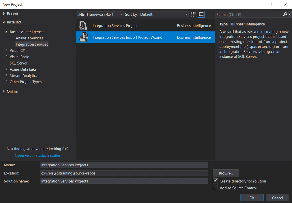 Sabin io | Migrating SSIS Packages to SSIS Azure part Two