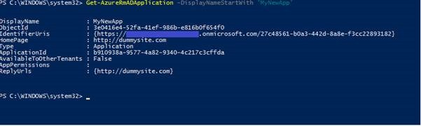 Sabin io | Create an Azure Active Directory Application and Key